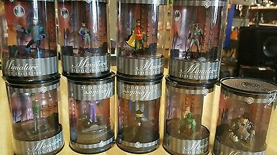 Warner Brothers Miniature Classic Collection  1999 in original packagin 9 total