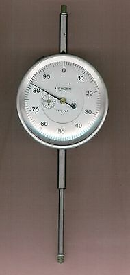 """Imperial (thous) dial test indicator with large (3"""") dial"""