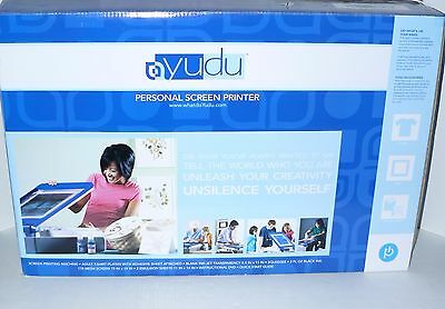 Yudu Personal Screen Printer T-shirt Printing Machine New in Box NIB