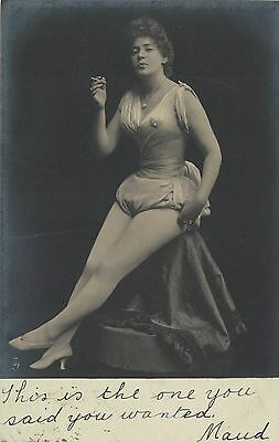 1903 Erotic Glamour Postcard Real Photograph (Berlin) Types Of Beauty Series