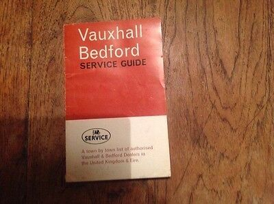 Vauxhall Bedford Sevice Guide