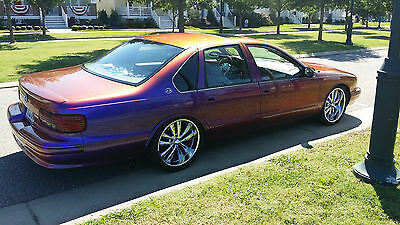 1995 Chevrolet Impala Custom 1995 Impala, TV's, DVD, CD changer, and too much MORE! A MUST SEE!