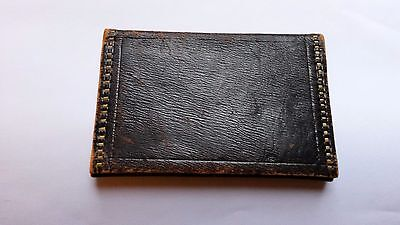Vintage Leather Mens Wallet Moroccan?