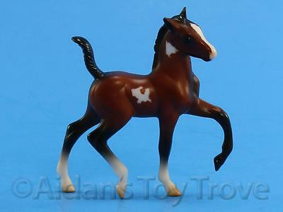 Breyer Model Horse  - Stablemate 5885 Mystery Foal Surprise - G2 Trotting Pinto