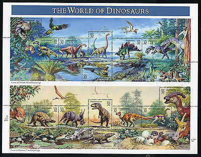 Usa  -  The  World  Of  Dinosaurs.