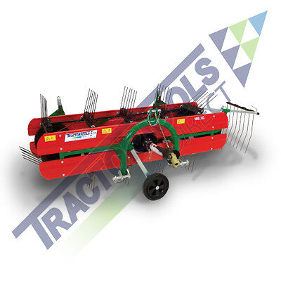 TS96 Compact Belt Rake by Molon