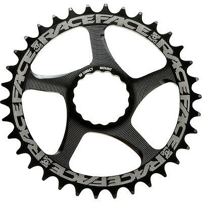 Race Face Cinch 42T Narrow Wide Direct Mount 10/11 Speed Chainring Black
