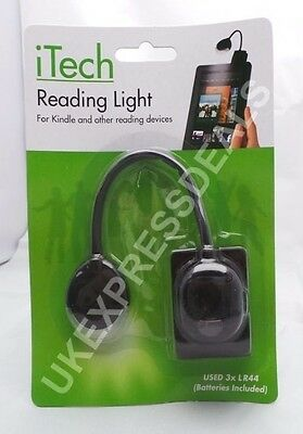 Joblot 23 x iTech Reading Light for Kindle Phones Tablets Clips to Any Surface