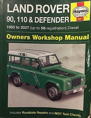 X 2 Land Rover Defender - 90 - 110 Haynes & Owners Edition Workshop Manuals