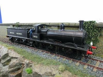 7mm FINESCALE O GAUGE KIT BUILT BRITISH RAILWAYS 0-6-0 2F '58158'