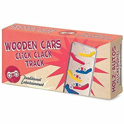 Tobar Wooden Cars Click Clack Track Children's Game