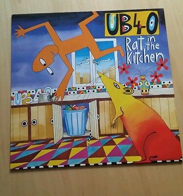 Ub40 Rat In The Kitchen Vinyl Lp Album