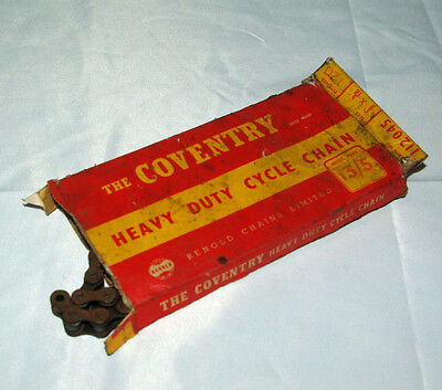 """VINTAGE Renold The Coventry Cycle Chain 1/2"""" x 3/16"""""""
