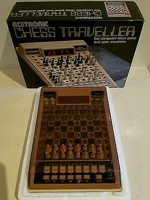 Vintage Acetronic Computer Chess Traveller