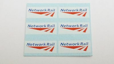 Hornby Lima Triang Ect Network Rail Transfers / Water Slide Decal's Pack Of 6