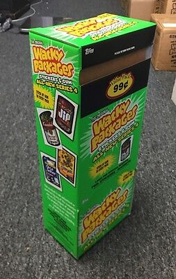 VERY RARE Topps Wacky Packages 2006 ANS4 GRAVITY FEED 48 Packs in BOX