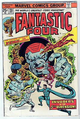 Fantastic Four #158 AND Marvel's Greatest #55 FN/FN+ LOT (8) 1975 THOR DAREDEVIL