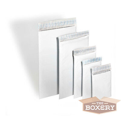75 #000 Poly Bubble Padded Envelopes Mailers 4 x 8 from The Boxery