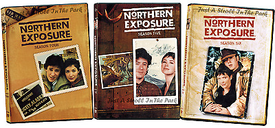 Northern Exposure: 1990s TV Series Complete Seasons 4 5 6 Box / DVD Set(s) NEW!