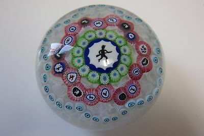Amazing Baccarat Paper Weight MILLEFIORI GRIDEL  Hunter Highly Collectible
