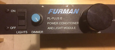 Furman PL-Plus E Power Conditioner with Voltmeter