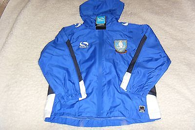 (SW 172) Sheffield Wednesday Sondico Venata Rain Jacket, Youth.