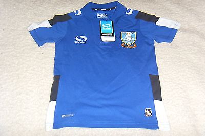 (SW 175) Sheffield Wednesday Sondico Venata Polo Shirt, Youth.