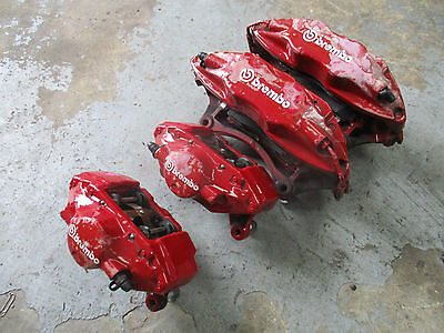 Mitsubishi Evo 6-9 - Clean Set of Front and Rear Brembo Brake Calipers