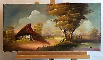LANDSCAPE, signed oil painting on canvas