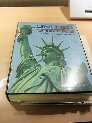 USA STAMPS - 1000+ Used stamps in Pre Printed Album - Early USA and Hawaii