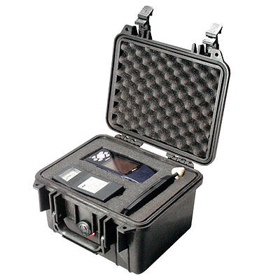 Pelican 1300B Small Black Protective Case with Foam