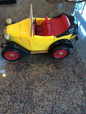 "Brum Wibbly Wobbly 7"" Battery Operated Car By Golden Bear - 2004 - Fully Working"