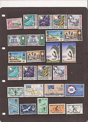 Gilbert & Ellice Islands 26 Stamps Mh