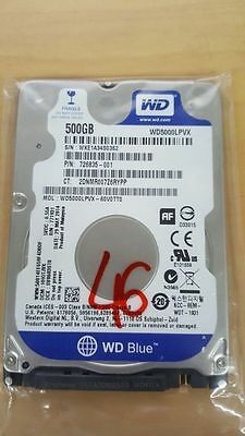 "Disque dur 2.5"" Hard Disk Drive HDD Western Digital WD5000LPVX 500GB 5400 rpm 72"