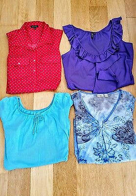 WOMEN'S    CLOTHING  LOT  of 3 tops size Large