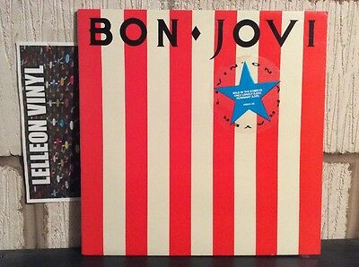 "Bon Jovi Livin On A Prayer Gatefold 12"" Collectors Ed. EP VERXG28 A1 Rock 80's"