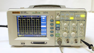 Rigol DS1102D 2+16 Channel 100MHz Digital Oscilloscope  with Logic Analyzer QTY