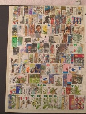 StockBook Page GB Stamps 1970/80 Off Paper