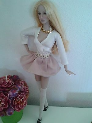 Barbie Fashion Royalty doll outfit vestito socks stockings calze