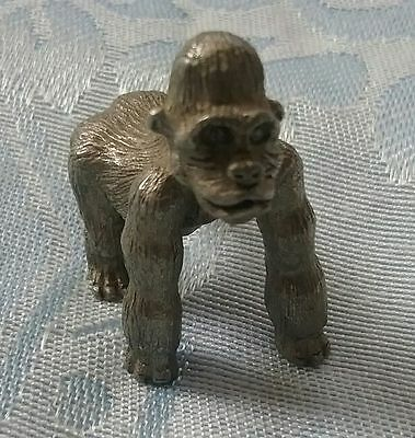 Pewter Gorilla Figurine 2004 Made by Spoon