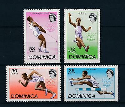 [55159] Dominica 1972 Olympic games Munich Athletics MNH