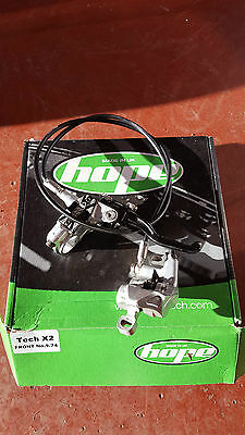 Hope Tech M4 Front and Rear Hydraulic Disc Brakes