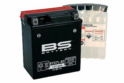 Bateria BS-BATTERY BTX7L-BS = YTX7L-BS sin mantenimiento