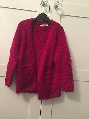 marks and spencer Girls Red Cardigan Age 6-7