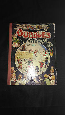 Bubbles Annual 1925 Vintage Childrens Hardback Book
