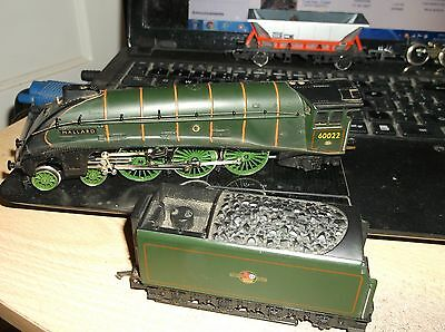 Hornby Oo Gauge Mallard 60022   Locomotive And Tender