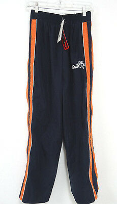 And1 Tearaway Pants - In Navy Blue & Orange - Size 14-16 Nwt