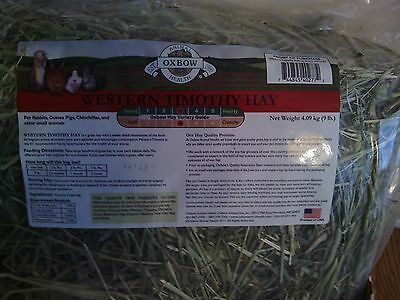 9 Lbs. Bag of Western Timothy Hay, Oxbow Animal Health, from 2014, small animals