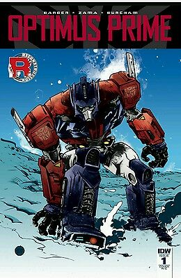 Optimus Prime Comic #1 RARE!!! 1:50 cover