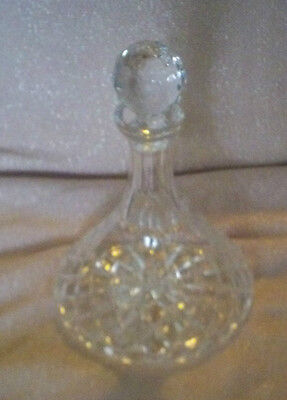 Vintage Waterford Crystal Colleen Ships Decanter